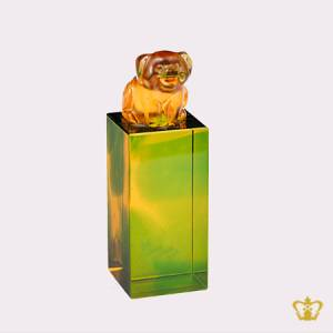 Personalize-Chinese-zodiac-sign-pig-crystal-replica