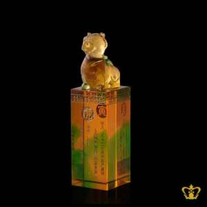 Personalize-Chinese-zodiac-sign-tiger-crystal-replica